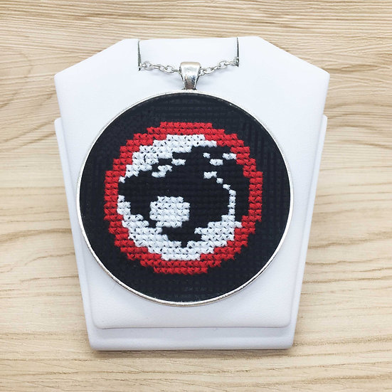 ThunderCats Symbol Cross Stitch | Pendant