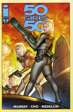 50 GIRLS 50 by IMAGE COMICS