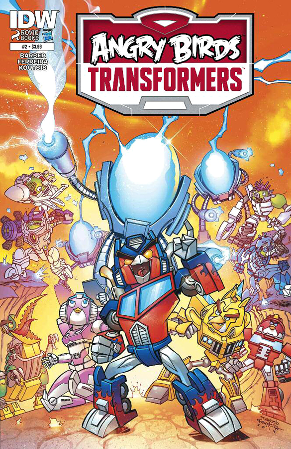 ANGRY BIRDS TRANSFORMERS by IDW Publ
