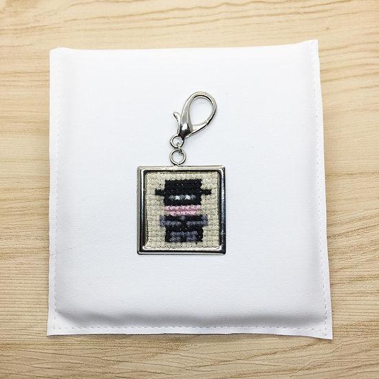 Zoro Cross Stitch | Keyring