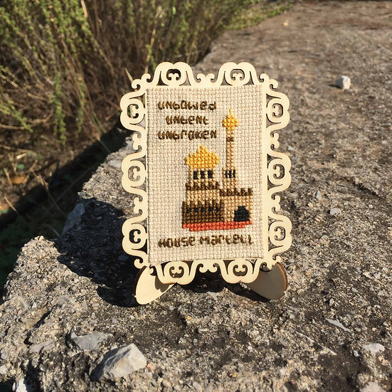 House Martell Castle Cross Stitch | Game of Thrones