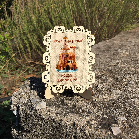 House Lannister Castle Cross Stitch | Game of Thrones