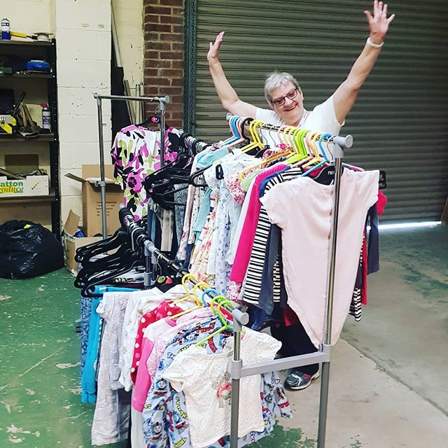 Clothing Bank is nearly ready to open