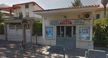 negozio ortopedia ricci via enrico fermi, 65 villaricca