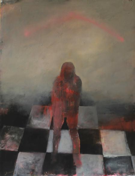 acrylique sur toile 130 x 100 cm