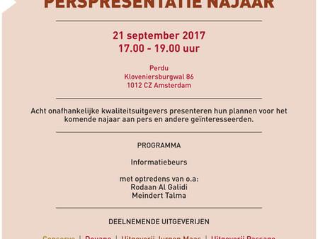 Perspresentatie Najaar 2017