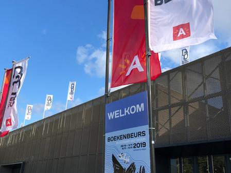Bij de Boekenbeurs in Antwerpen