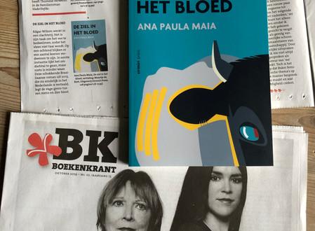 DE ZIEL IN HET BLOED van Ana Paula Maia in de oktober editie van de Boekenkrant