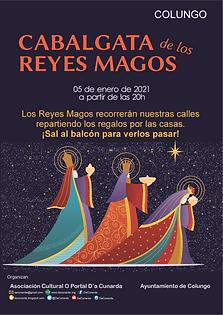 reyes magos Colungo 2021