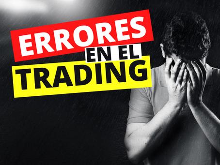 Los 4 errores más comunes cuando empiezas a hacer trading