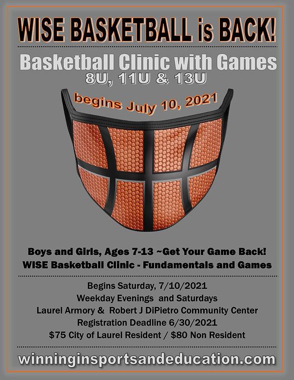 Summer Basketball Clinic Games 7.10.2021