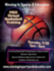 Virtual Basketball Training Session 7.30