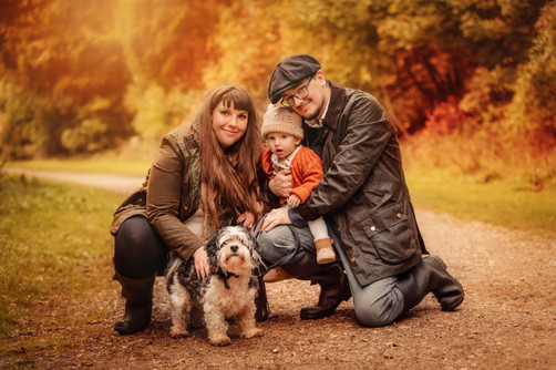 Autumn Family Portrait