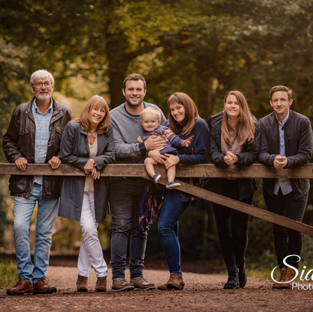 Large Family Photoshoots