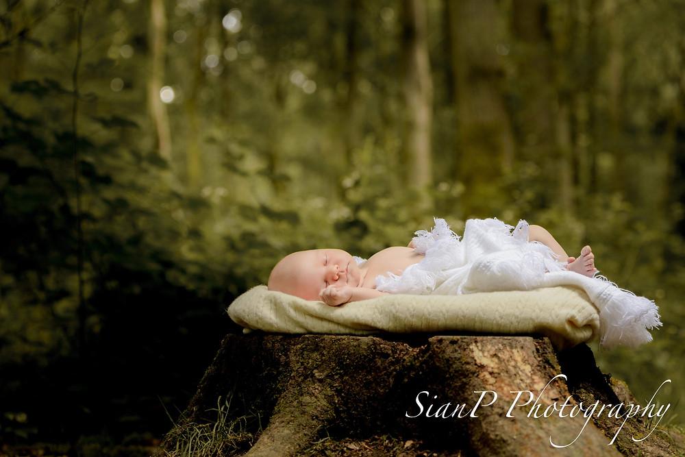 Outdoor Newborn photoshoot