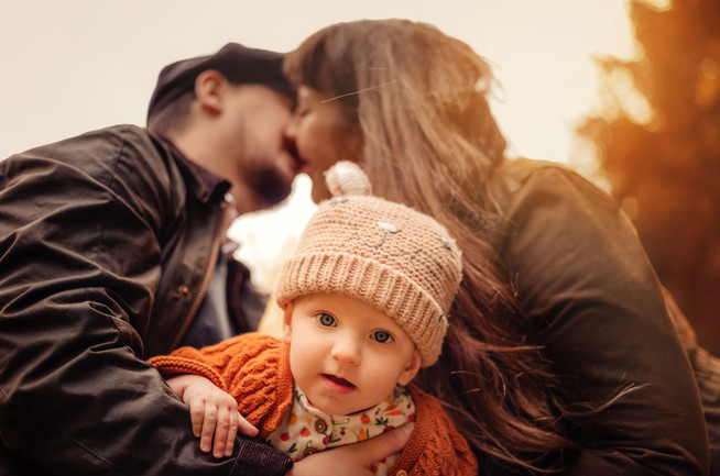 Couple and Daughter in Buckinghamshire