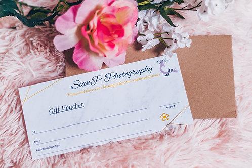 Full Shoot Gift Voucher