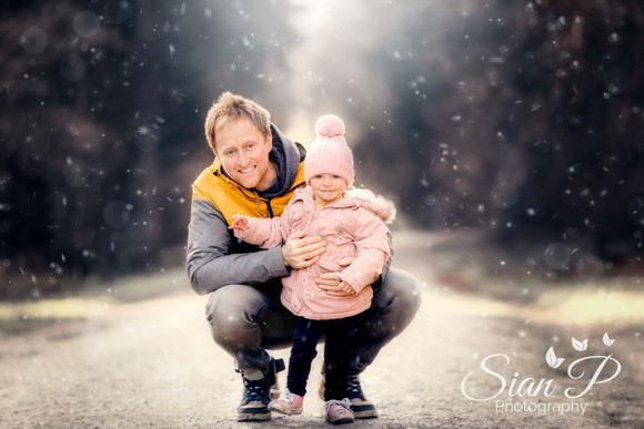 Daddy and Daughter photo