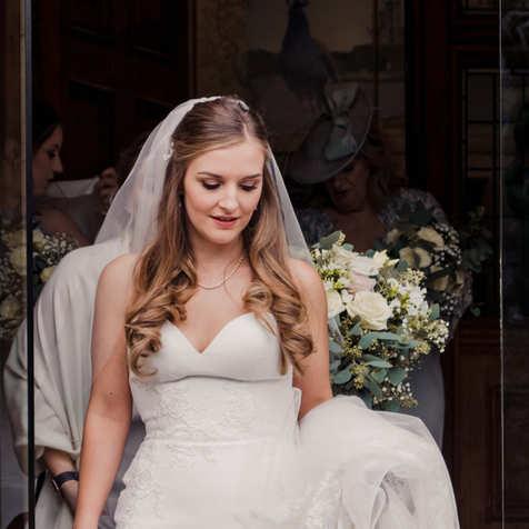 Bride at Pendley Manor