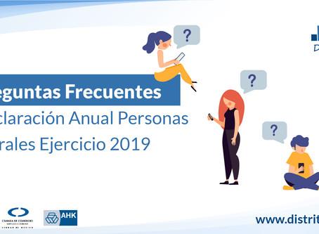 SAT responde dudas sobre la Declaración Anual Ejercicio 2019