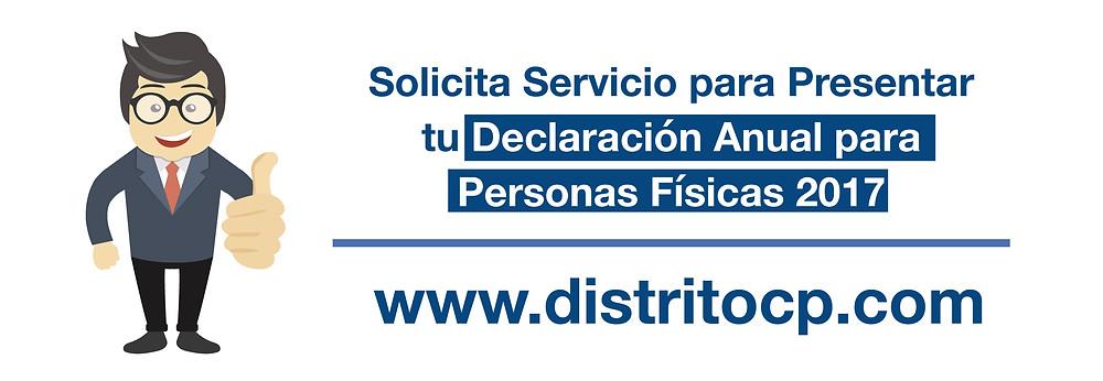 Declaración Anual Personas Físicas 2017