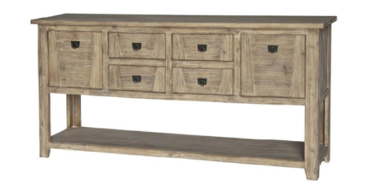 Potters Barn 6 Drawer Console