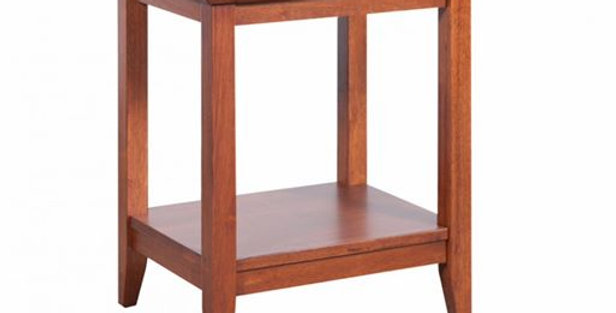 Quadrat Rectangular Lamp Table