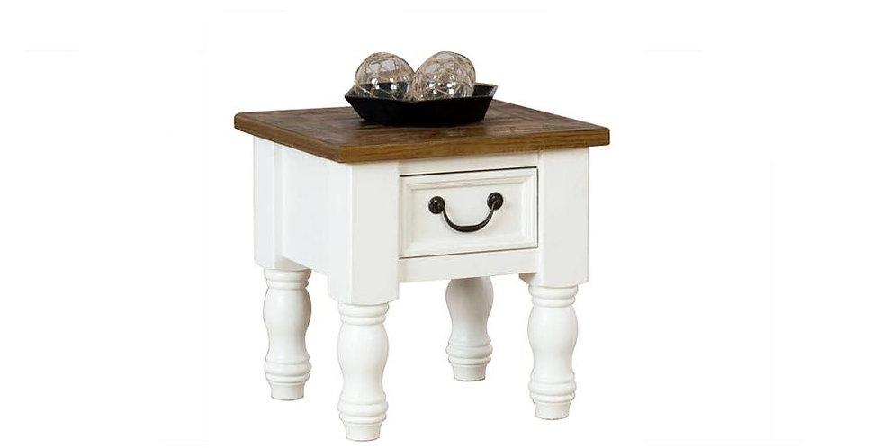 Portland 1 Drawer Lamp Table