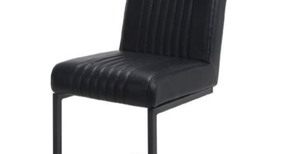 Bram Black Dining Chair