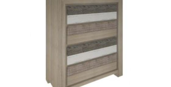 Chateau Tallboy 4 Drawers