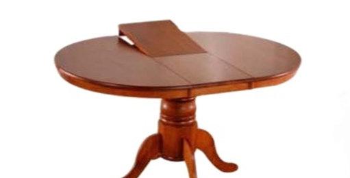 Avalon Round Extension Dining Table - 105 cm + 33 cm