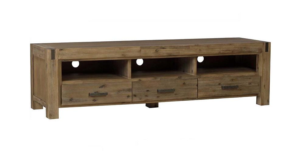 Sterling Large TV Unit 3 Drawers