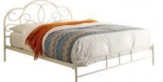 Charlotte Wrought Iron Queen Bed