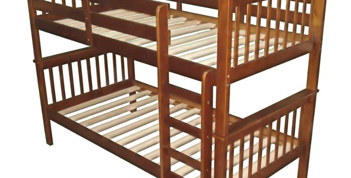 Monza King Single Timber Bunk Bed