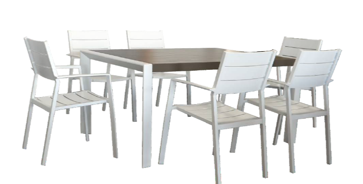 Oxford 7 Pc Outdoor Dining Setting