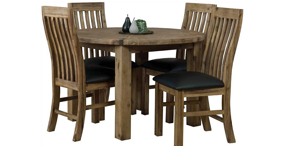 Sterling 5 Pce Dining Suite - 1200 Round