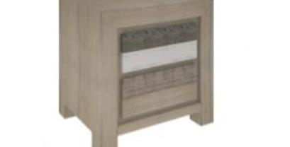 Chateau Bedside 2 Drawers