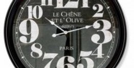 Le Chene 93cm Metal Wall Clock