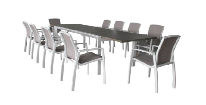 Oxford 11 Pc Outdoor Dining