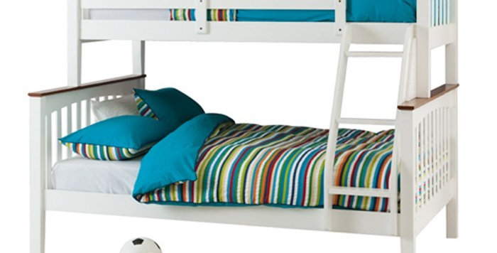 Sarah Timber Double/Single Bunk Bed
