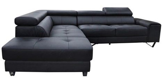 Bellagio Leather 2 Seater Sofa with Chaise