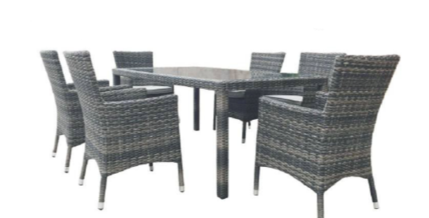 Milford 7Pc Dining Setting