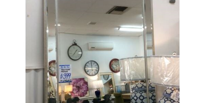 Large Traditional Bevelled Edge Mirror