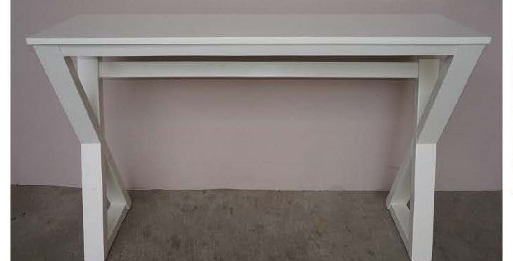 Cross Small Console Table