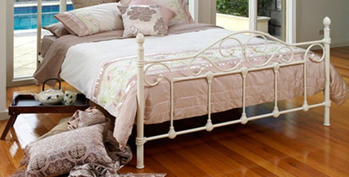 Avont Wrought Iron Double Bed