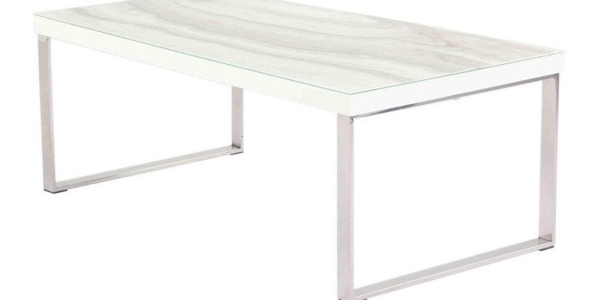 Luna Calacatta Marble Coffee Table