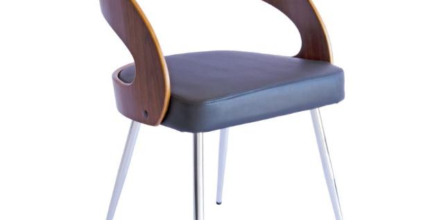 Ava Dining Chair - Walnut