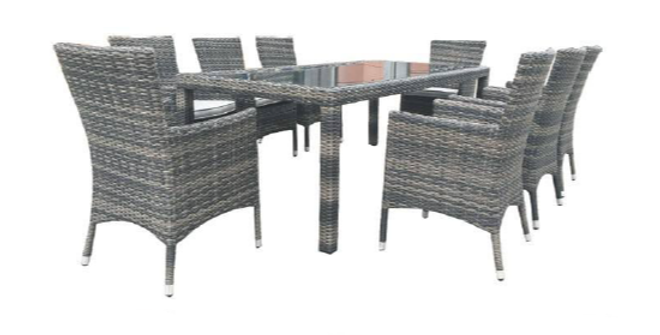 Milford 9Pc Dining Setting