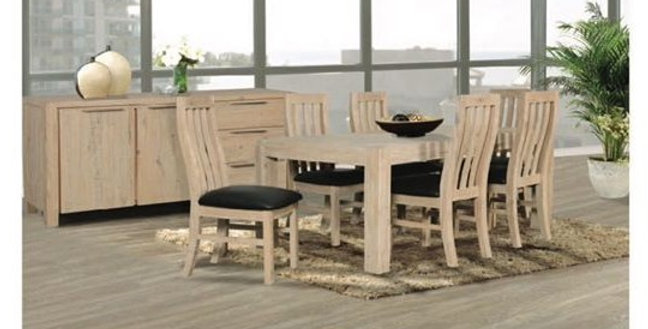 Henley 7 Piece Dining Setting - 1800