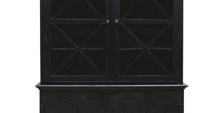 Sorrento Tall Glass Door Cabinet